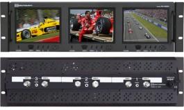 RX-563A : 2 Composite Video Inputs and 1 Audio Input per Screen