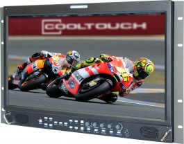 RX-1701HD : Rackmounted Widescreen 18.5 Inch Audio and Video Monitor with SD/HD-SDI, De-embedded Audio