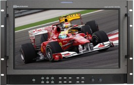 RX-1701HDL : Rackmounted Dual Link 3G Widescreen 17 Inch Audio and Video Monitor with SD/HD-SDI, De-embedded Audio