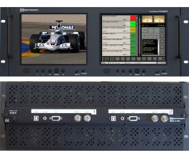 RX-802TA : 2 Composite Video inputs, 1 VGA and 1 Analog audio input per screen
