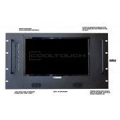 RX-1331TV : Rackmounted Widescreen 13.3 Inch Digital Monitor with digital TV Tuner