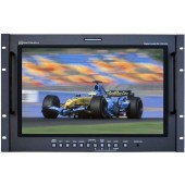 RX-1701HD : Rackmounted Widescreen 17 Inch Audio and Video Monitor with SD/HD-SDI, De-embedded Audio