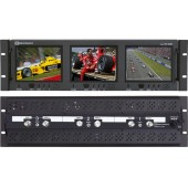 RX-563A : 2 Composite Video Inputs and 1 Audio Input per Screen