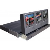 dx-563al triple 5.6 inch in 1u drawer