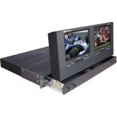 dx-702al dual 7 inch in 1u drawer
