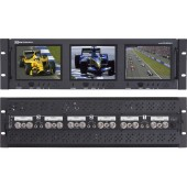 RX-563ALS : 2 Composite Video Inputs, 1 Analog Audio Input with passive Loop out for video and audio
