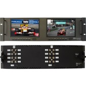 RX-702HD : 1 HD-SDI Input with loop out, 1 HDMI, 1 Composite, 1 Y Pr Pb, with de-embedded audio