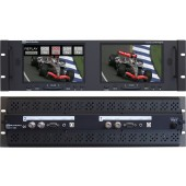 RX-702TA : 2 Composite Video inputs, 1 VGA input and 1 Analog Audio input with USB Touchscreen