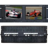 RX-802A : 2 Composite Video, 1 S-Video, 1 VGA and 1 Analog Audio per screen