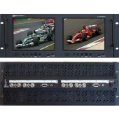 RX-802AL : 2 Composite video inputs with loop outputs, 1 S-Video, 1 VGA and 1 Analog audio input per screen
