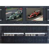 RX-802ALS : 2 Composite Video with loop outputs, 1 S-Video, 1 VGA, and 1 Analog Audio with loop output per screen