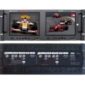 RX-802SDI : 1 SD-SDI input, 1 Composite video input, 1 S-Video, 1 VGA and 1 Analog Audio input per screen